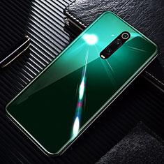 Xiaomi Mi 9T Pro用ハイブリットバンパーケース プラスチック 鏡面 カバー T01 Xiaomi グリーン