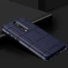 Xiaomi Mi 9T Pro用360度 フルカバー極薄ソフトケース シリコンケース 耐衝撃 全面保護 バンパー C06 Xiaomi ネイビー