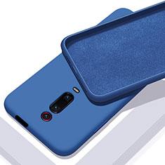 Xiaomi Mi 9T Pro用360度 フルカバー極薄ソフトケース シリコンケース 耐衝撃 全面保護 バンパー C02 Xiaomi ネイビー