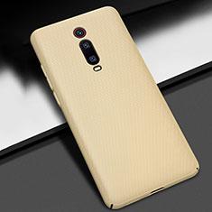 Xiaomi Mi 9T Pro用ハードケース プラスチック 質感もマット M01 Xiaomi ゴールド