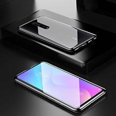 Xiaomi Mi 9T Pro用ケース 高級感 手触り良い アルミメタル 製の金属製 360度 フルカバーバンパー 鏡面 カバー Xiaomi ブラック