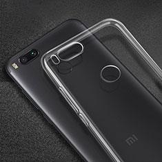 Xiaomi Mi A1用極薄ソフトケース シリコンケース 耐衝撃 全面保護 クリア透明 カバー Xiaomi クリア