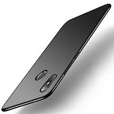 Xiaomi Mi A2用ハードケース プラスチック 質感もマット M01 Xiaomi ブラック