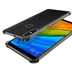 Xiaomi Mi A2用極薄ソフトケース シリコンケース 耐衝撃 全面保護 クリア透明 H03 Xiaomi グレー