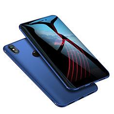 Xiaomi Mi A2用極薄ソフトケース シリコンケース 耐衝撃 全面保護 S02 Xiaomi ネイビー