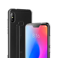Xiaomi Mi A2 Lite用極薄ソフトケース シリコンケース 耐衝撃 全面保護 クリア透明 T04 Xiaomi クリア