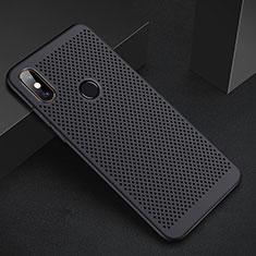 Xiaomi Mi A2 Lite用ハードケース プラスチック メッシュ デザイン カバー Xiaomi ブラック