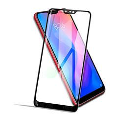Xiaomi Mi A2 Lite用強化ガラス フル液晶保護フィルム F02 Xiaomi ブラック