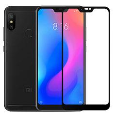Xiaomi Mi A2 Lite用強化ガラス フル液晶保護フィルム F03 Xiaomi ブラック