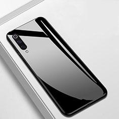 Xiaomi Mi A3用ハイブリットバンパーケース プラスチック 鏡面 カバー Xiaomi ブラック