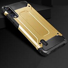 Xiaomi Mi A3用360度 フルカバー極薄ソフトケース シリコンケース 耐衝撃 全面保護 バンパー Xiaomi ゴールド