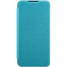 Xiaomi Mi A3用手帳型 レザーケース スタンド カバー Xiaomi ブルー