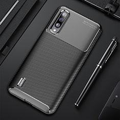 Xiaomi Mi A3用シリコンケース ソフトタッチラバー ツイル カバー Xiaomi ブラック