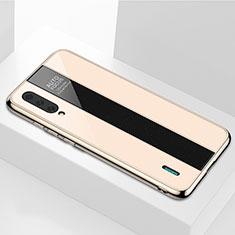Xiaomi Mi A3用ハイブリットバンパーケース プラスチック 鏡面 カバー M01 Xiaomi ゴールド