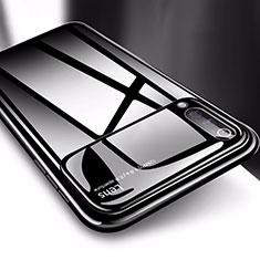 Xiaomi Mi A3用ハードケース プラスチック 質感もマット M03 Xiaomi ブラック