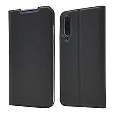 Xiaomi Mi A3 Lite用手帳型 レザーケース スタンド カバー Xiaomi ブラック