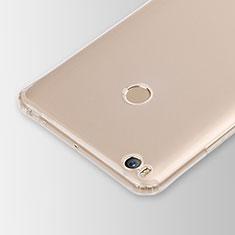 Xiaomi Mi Max 2用極薄ソフトケース シリコンケース 耐衝撃 全面保護 クリア透明 カバー Xiaomi クリア