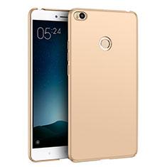 Xiaomi Mi Max 2用ハードケース プラスチック 質感もマット M02 Xiaomi ゴールド