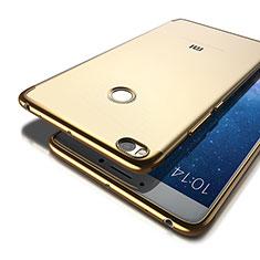 Xiaomi Mi Max 2用ケース 高級感 手触り良い アルミメタル 製の金属製 Xiaomi ゴールド