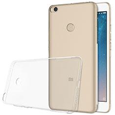 Xiaomi Mi Max 2用極薄ソフトケース シリコンケース 耐衝撃 全面保護 クリア透明 T06 Xiaomi クリア