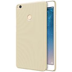 Xiaomi Mi Max 2用ハードケース プラスチック メッシュ デザイン Xiaomi ゴールド
