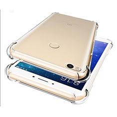 Xiaomi Mi Max 2用極薄ソフトケース シリコンケース 耐衝撃 全面保護 クリア透明 T07 Xiaomi クリア