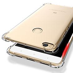 Xiaomi Mi Max 2用極薄ソフトケース シリコンケース 耐衝撃 全面保護 クリア透明 T10 Xiaomi クリア