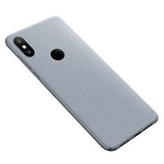 Xiaomi Mi Max 3用ハードケース カバー プラスチック Xiaomi グレー