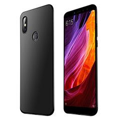 Xiaomi Mi Max 3用極薄ソフトケース シリコンケース 耐衝撃 全面保護 S01 Xiaomi ブラック
