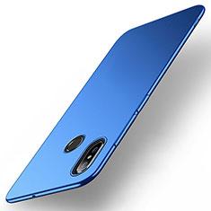 Xiaomi Mi Max 3用ハードケース プラスチック 質感もマット M01 Xiaomi ネイビー