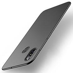 Xiaomi Mi Max 3用ハードケース プラスチック 質感もマット M01 Xiaomi ブラック