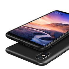 Xiaomi Mi Max 3用極薄ソフトケース シリコンケース 耐衝撃 全面保護 S03 Xiaomi ブラック