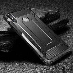 Xiaomi Mi Max 3用360度 フルカバー極薄ソフトケース シリコンケース 耐衝撃 全面保護 バンパー Xiaomi ブラック