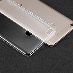 Xiaomi Mi Max用極薄ソフトケース シリコンケース 耐衝撃 全面保護 クリア透明 T02 Xiaomi クリア