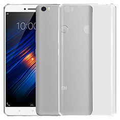 Xiaomi Mi Max用極薄ソフトケース シリコンケース 耐衝撃 全面保護 クリア透明 T03 Xiaomi クリア