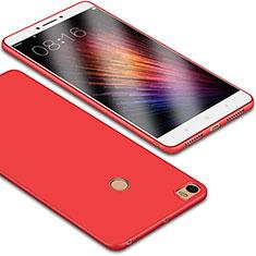 Xiaomi Mi Max用極薄ソフトケース シリコンケース 耐衝撃 全面保護 S01 Xiaomi レッド