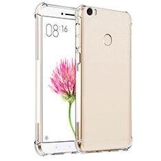 Xiaomi Mi Max用極薄ソフトケース シリコンケース 耐衝撃 全面保護 クリア透明 T07 Xiaomi クリア