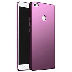 Xiaomi Mi Max用ハードケース プラスチック 質感もマット M03 Xiaomi パープル