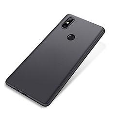 Xiaomi Mi Mix 2S用極薄ソフトケース シリコンケース 耐衝撃 全面保護 Xiaomi ブラック