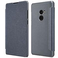 Xiaomi Mi Mix Evo用手帳型 レザーケース スタンド Xiaomi ブラック