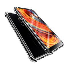 Xiaomi Mi Mix Evo用極薄ソフトケース シリコンケース 耐衝撃 全面保護 クリア透明 T08 Xiaomi クリア