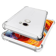 Xiaomi Mi Mix Evo用極薄ソフトケース シリコンケース 耐衝撃 全面保護 クリア透明 T05 Xiaomi クリア