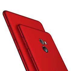 Xiaomi Mi Mix Evo用ハードケース プラスチック 質感もマット M06 Xiaomi レッド