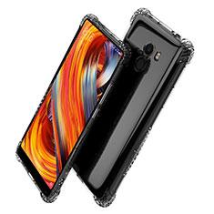 Xiaomi Mi Mix Evo用極薄ソフトケース シリコンケース 耐衝撃 全面保護 クリア透明 T06 Xiaomi クリア