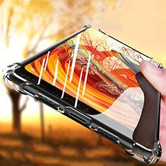 Xiaomi Mi Mix Evo用極薄ソフトケース シリコンケース 耐衝撃 全面保護 クリア透明 T09 Xiaomi クリア