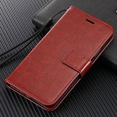 Xiaomi Mi Note 10用手帳型 レザーケース スタンド カバー T14 Xiaomi ブラウン