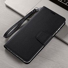 Xiaomi Mi Note 10用手帳型 レザーケース スタンド カバー T15 Xiaomi ブラック
