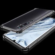 Xiaomi Mi Note 10用極薄ソフトケース シリコンケース 耐衝撃 全面保護 クリア透明 S02 Xiaomi ブラック