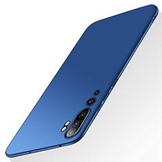 Xiaomi Mi Note 10用ハードケース プラスチック 質感もマット カバー P01 Xiaomi ネイビー