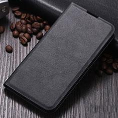 Xiaomi Mi Note 10用手帳型 レザーケース スタンド カバー Xiaomi ブラック